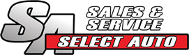 Logo for Select Auto Used Car Dealership & Service Center in Frankfort, Kentucky (KY)